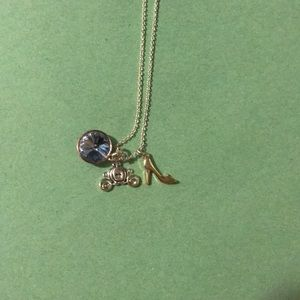 Cinderella themed necklace